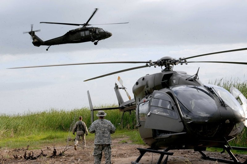 Louisiana Guard first to fly new helicopter in overseas mission