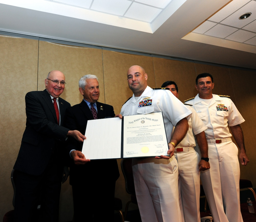Navy officer selected for Batchelder Award