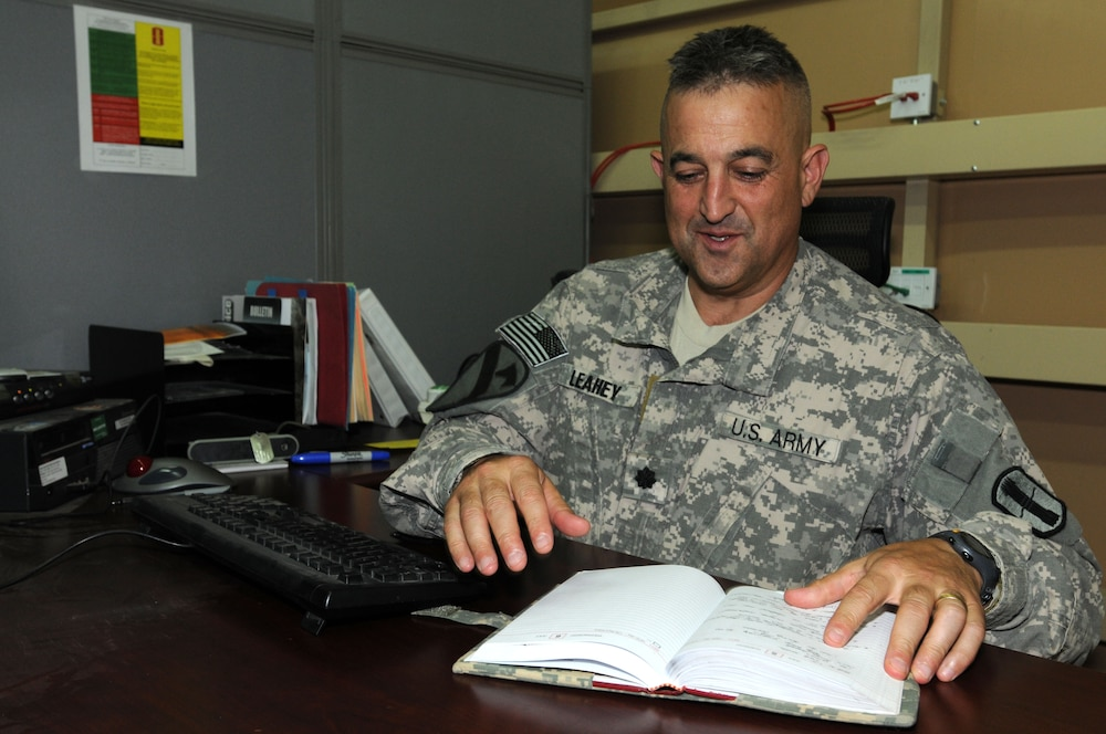 National Guard soldier recalls Sept. 11, marches on for Third Army