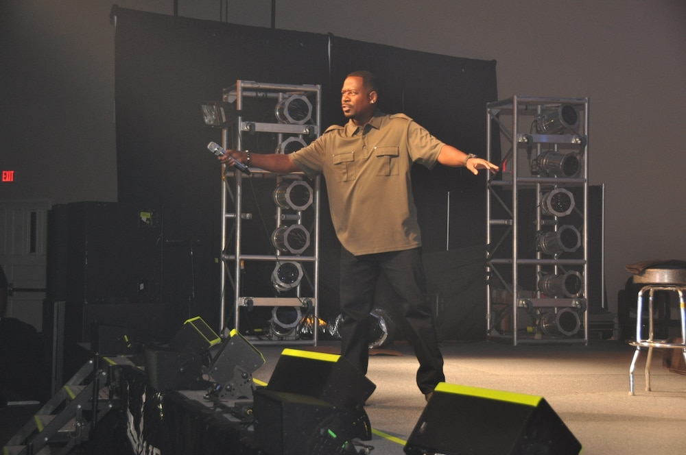 Martin Lawrence performs for the troops: 'It was beautiful'