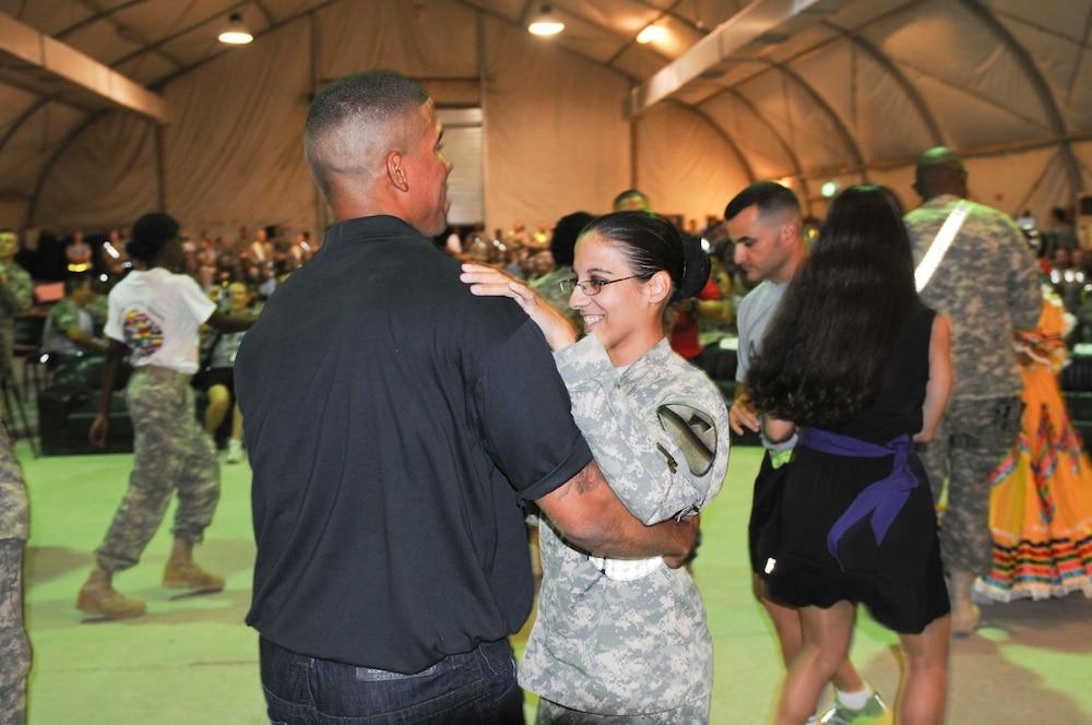 Soldiers celebrate Hispanic Heritage Month in Iraq
