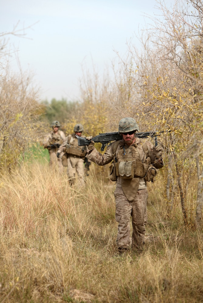 Marines near completion of successful deployment in Marjah district