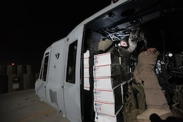 Operation Noel: Marine helicopters spread Christmas spirit in Afghanistan