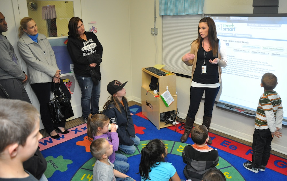 Open house shows high-tech aids utlized at child development center