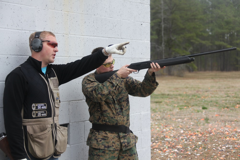 Cherry Point Skeet Club introduces SMP to shotgun sports