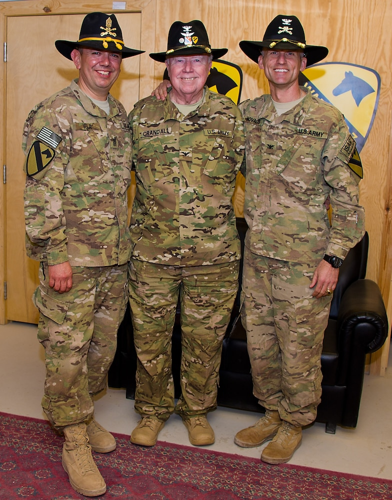 bac9d9c01778e Air Cavalry Medal of Honor recipient visits 1st ACB troopers in Afghanistan