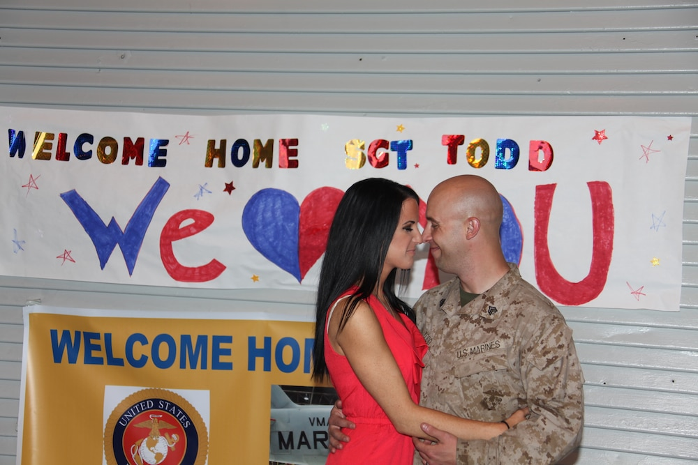 VMAQ-1 Marines return from Afghanistan deployment