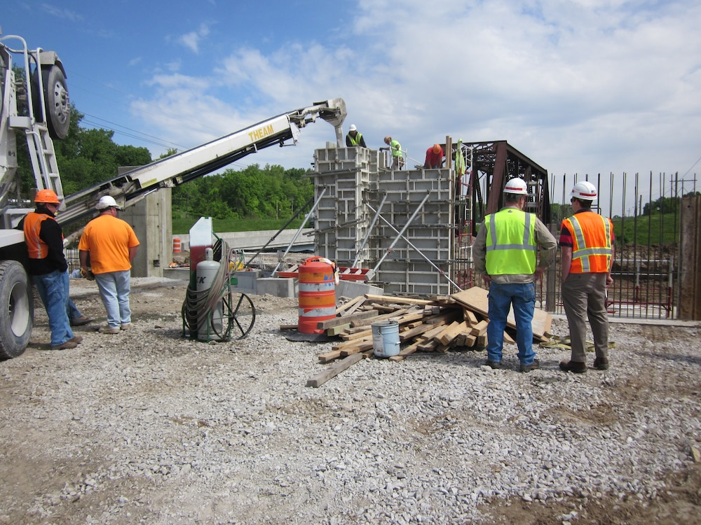 USACE Wood River Levee reconstruction project