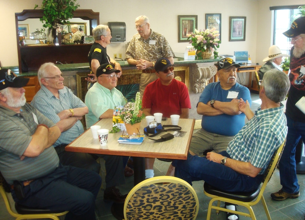 Vietnam vets reunite for one week, 'Black Jack' Soldiers attend reunion