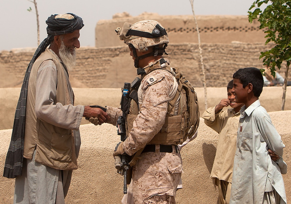 Marines in Khan Neshin near end of successful deployment