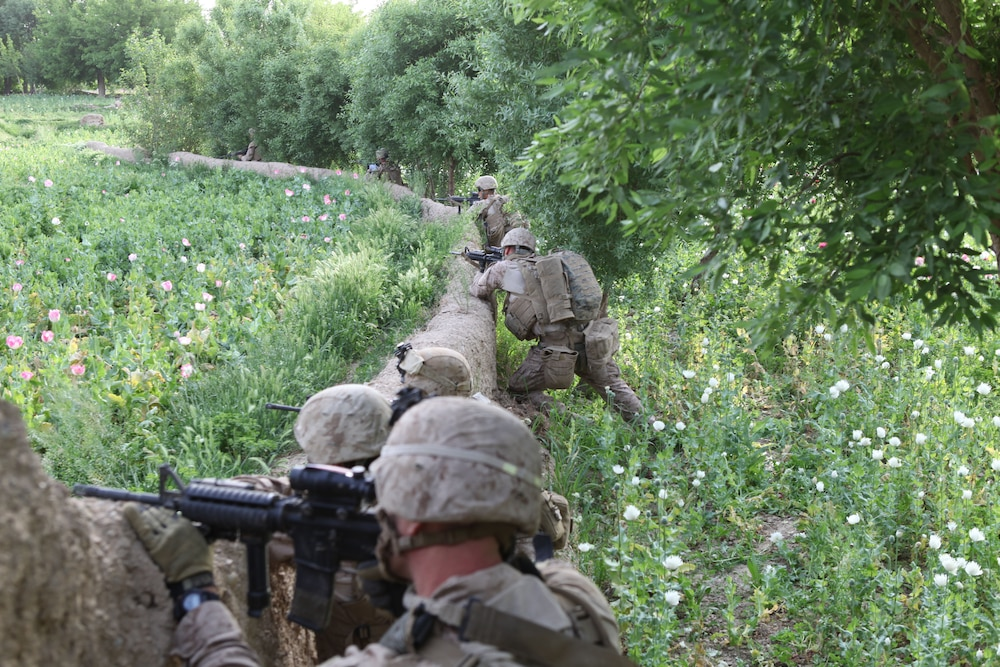 Lejeune Marines clear Afghan valley of insurgents