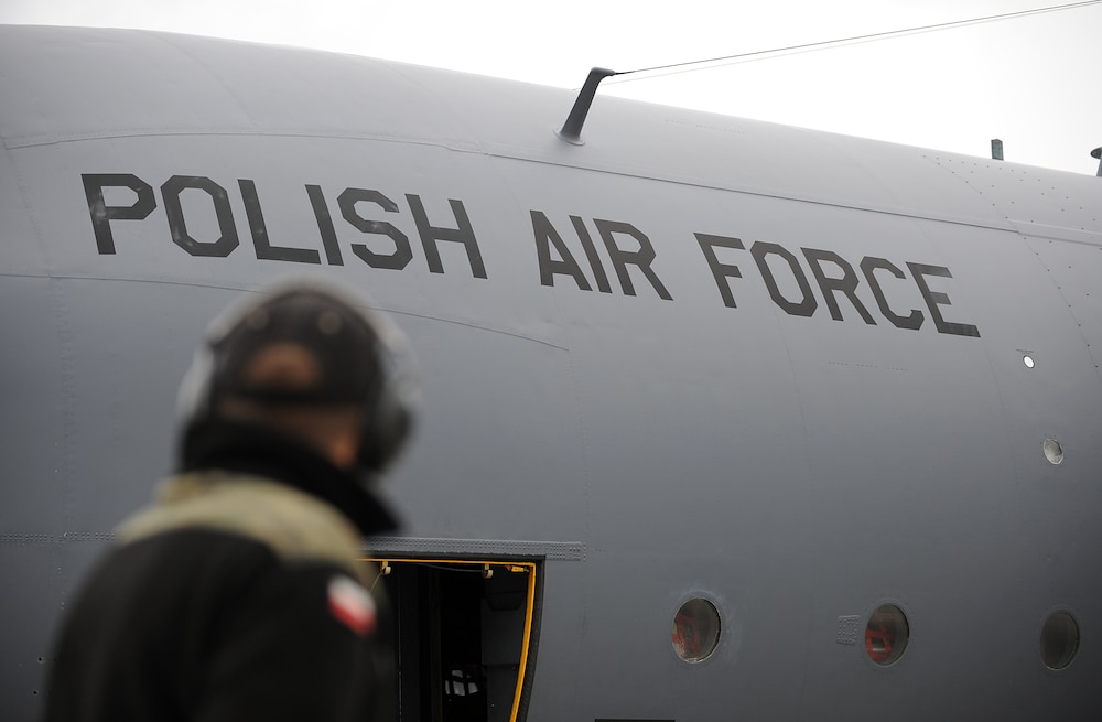 Polish air force participates in first Red Flag
