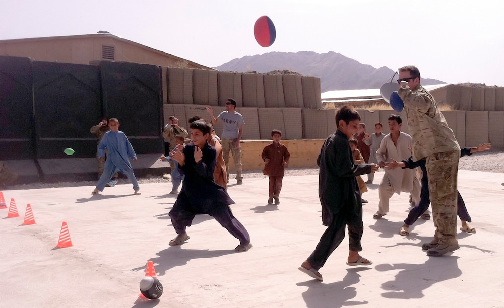 Afghan youth learn cultural diversity
