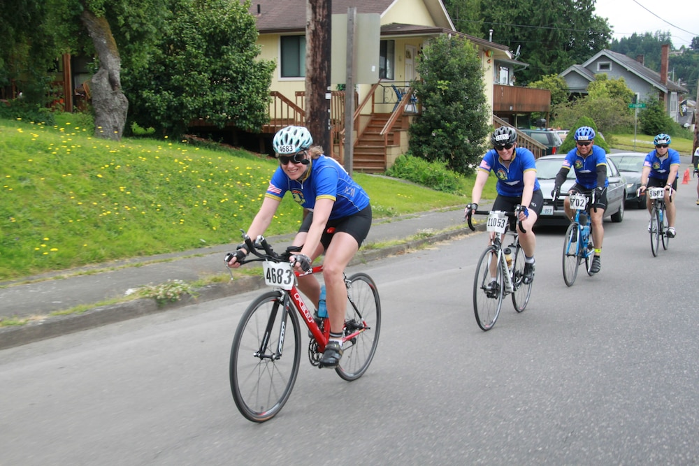 16th CAB cyclists trek from Seattle to Portland