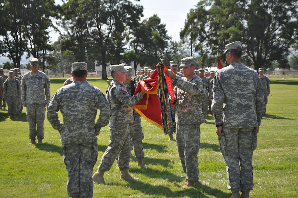 Oregon National Guard's 2-218 Field Artillery Battalion is honored with Meritorious Unit Citation