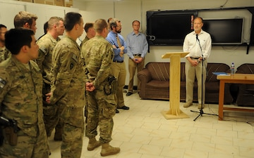 US ambassador pays visit to FOB Wright