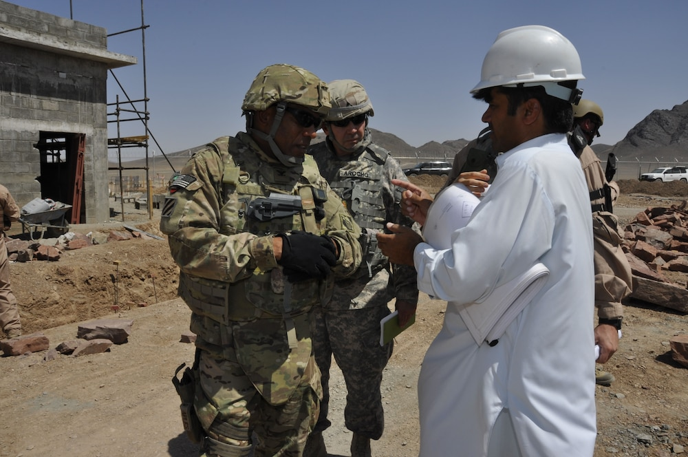 USACE in Afghanistan meets construction placement goals for July and August