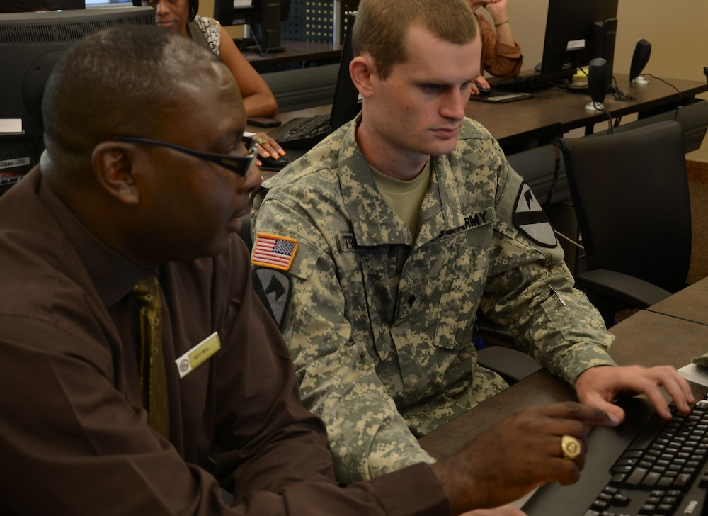 Resumes, career fairs, networking: Fort Sam Houston offers the right tools to find the right job