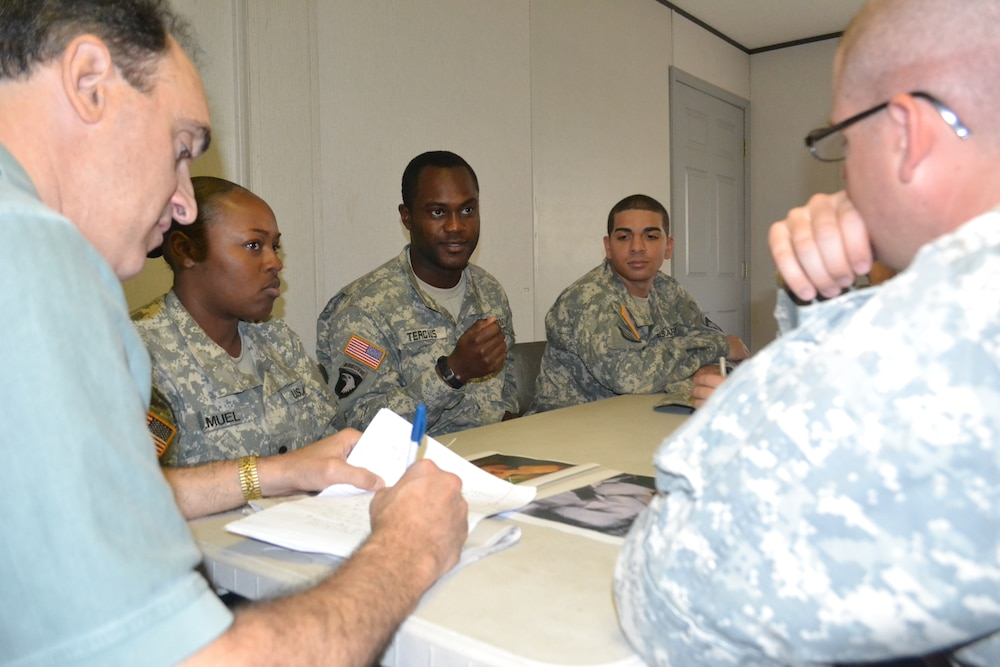 Army encourages stigma reduction