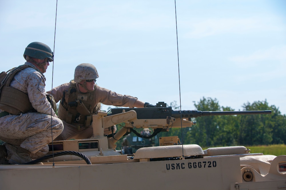 Marines field test safer turret system