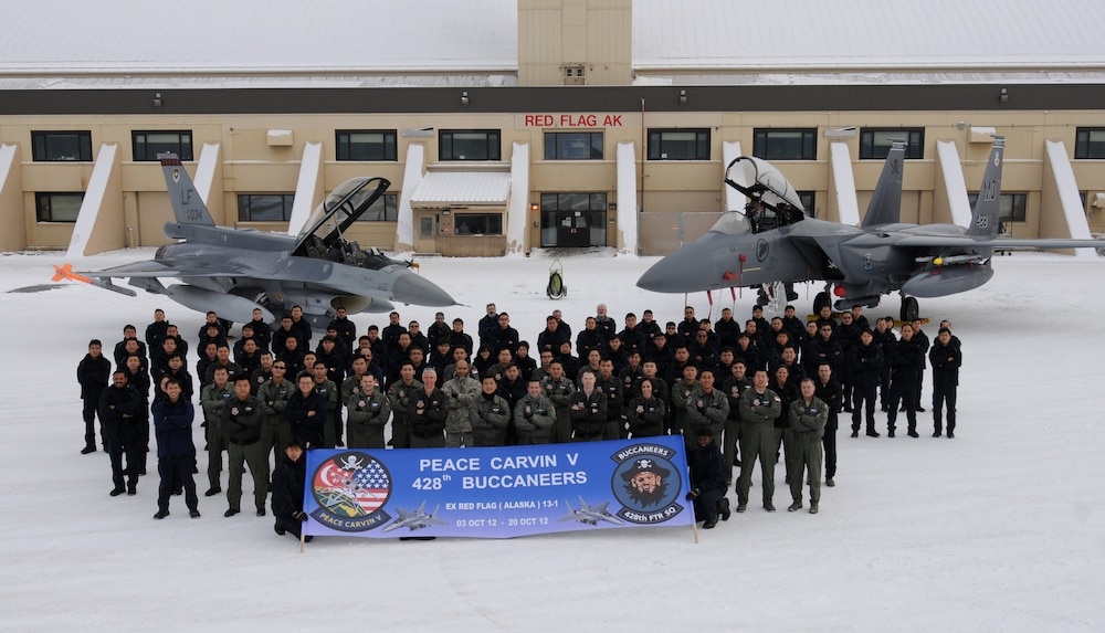 428th Fighter Squadron returns from Red Flag-Alaska 13-1