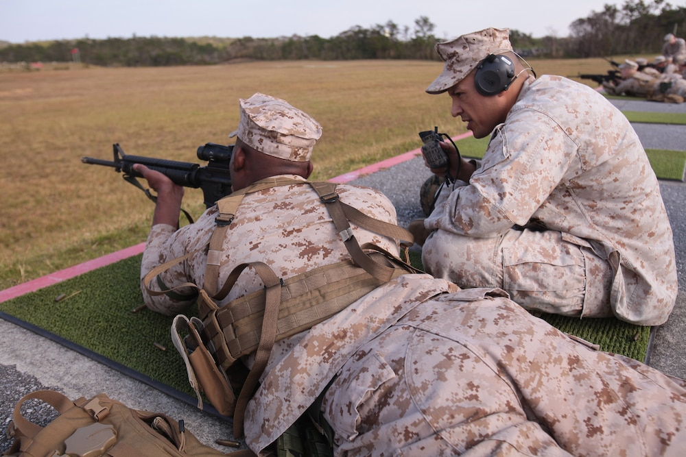 Marines apply marksmanship skills