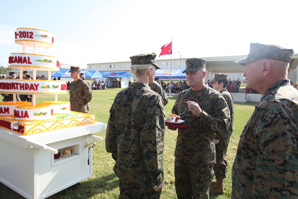 Marines celebrate Corps' birthday with annual pageant, cake cutting