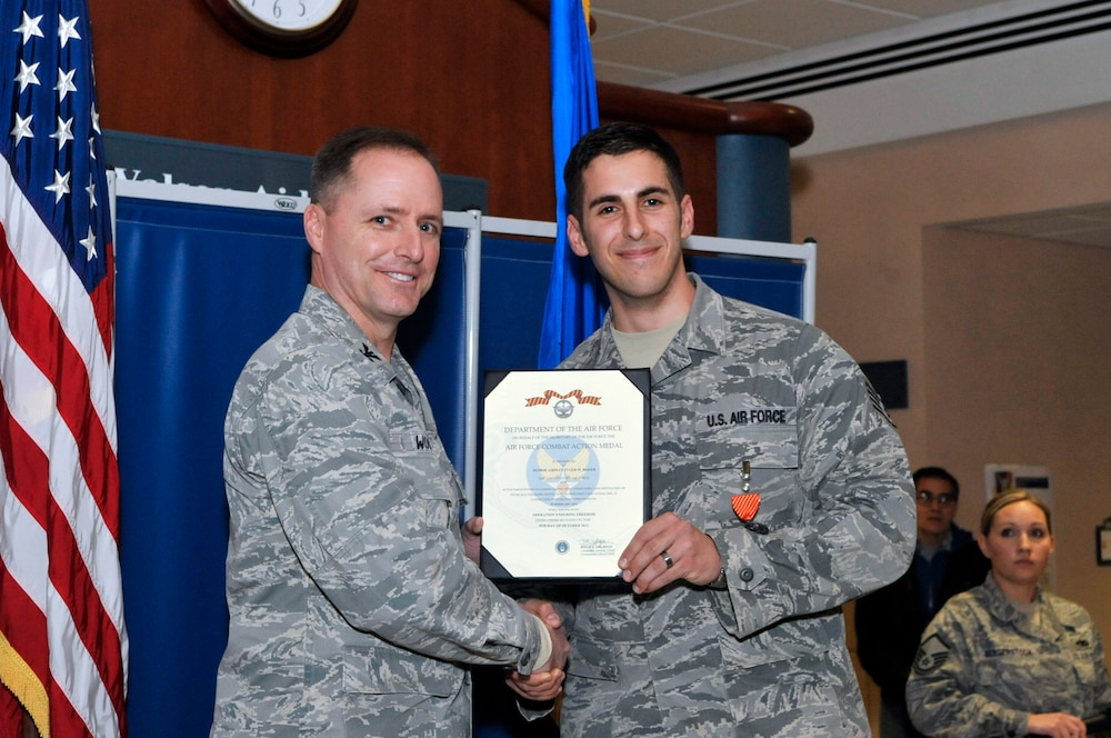 87th MDG airman earns Combat Action Medal