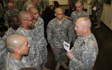GED Plus graduates inspire Army National Guard's top enlisted leader