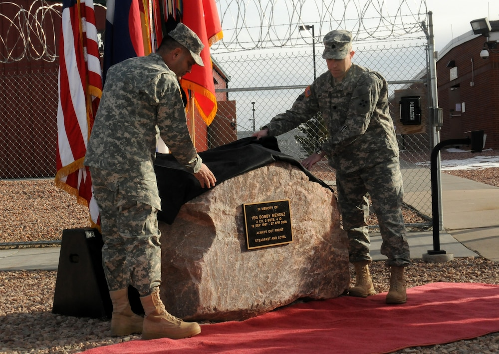Unveiling the memorial