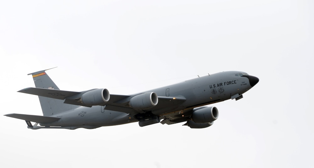 First KC-135R Stratotanker retires