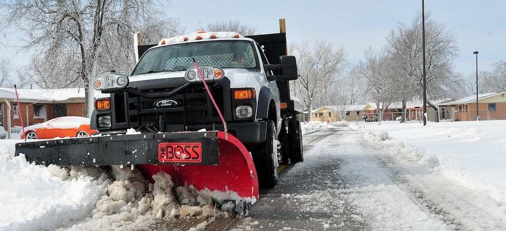 McConnell snow cleaning