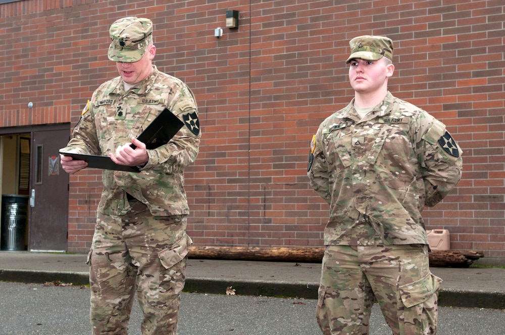 Tomahawks soldier a cut above the rest: selected to attend U.S. Military Academy later this year