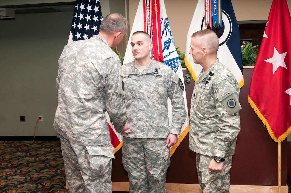 Tomahawks soldier recognized for his contribution to the 23rd Infantry Regiment