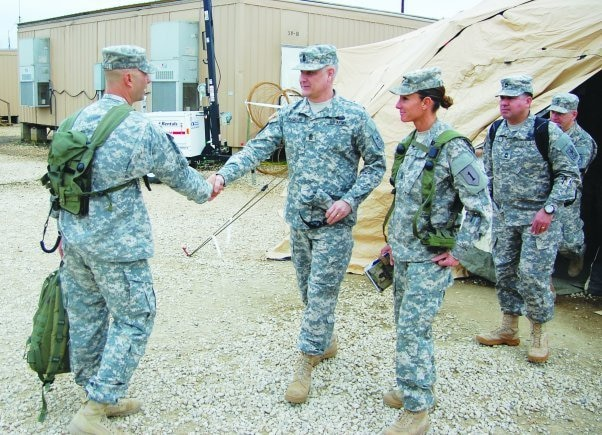 Breaking the glass: Female command sergeant major breaks through barriers
