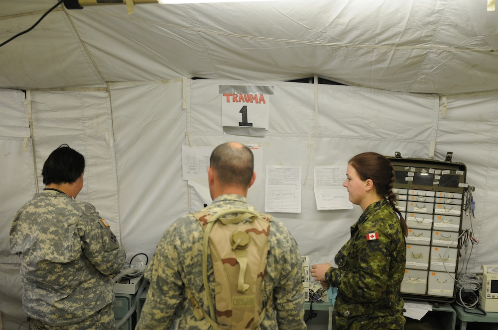 Canadian forces' medical units join Warrior Exercise