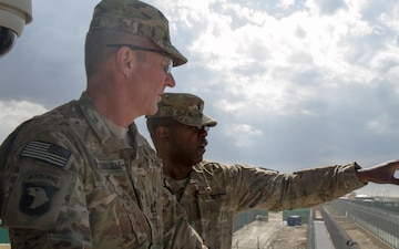 Maj. Gen. James McConville meets ANDF-P personnel