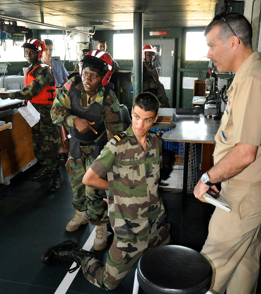 Liberian Coast Guard, French Navy conduct joint anti-piracy training