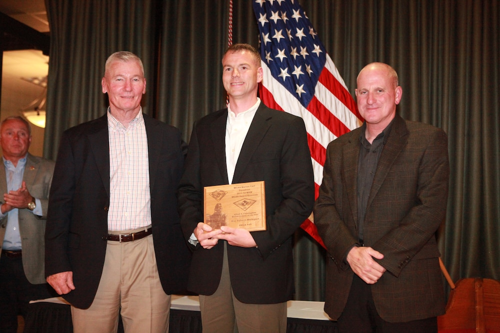 Aviator of the Year award to 3rd MAW Marine