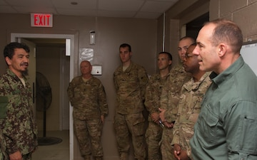 DASD William Lietzau meets ANDF-P personnel