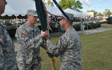 155th BSTB Change of Command