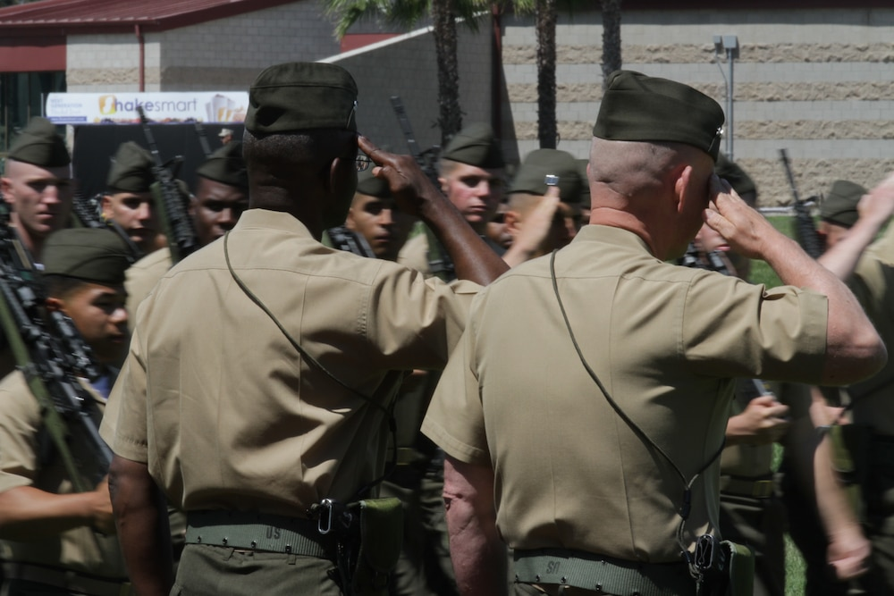 1st Marine Division welcomes new commanding general