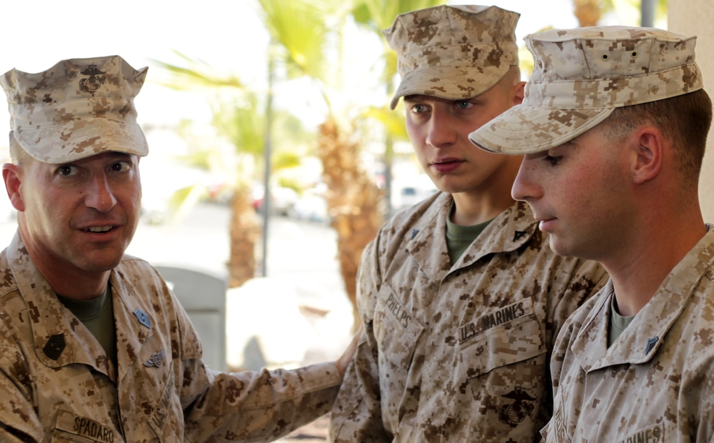 Combat Center Marines use training to save life