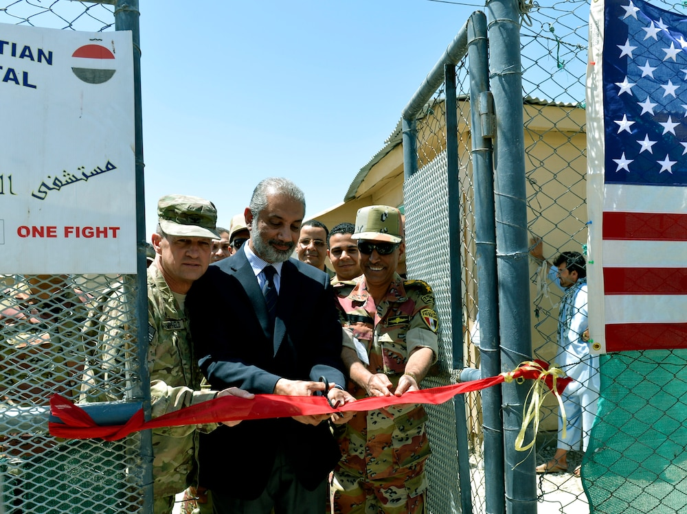Egyptian field hospital re-opens on Bagram Air Field