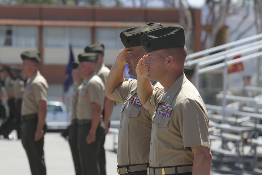 Geronimo battalion welcomes new commanding officer
