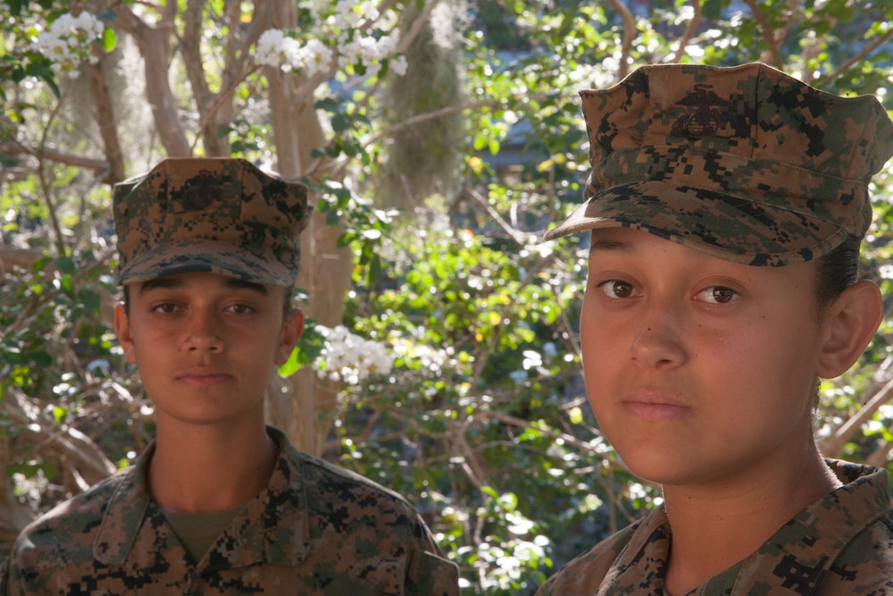 Payson, Ariz., sisters enlist in Marine Corps, take on boot camp together on Parris Island