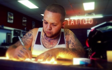 Life after formation: Veteran finds success in tattoo art