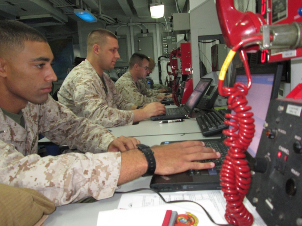 UFG Marines command and control from the sea