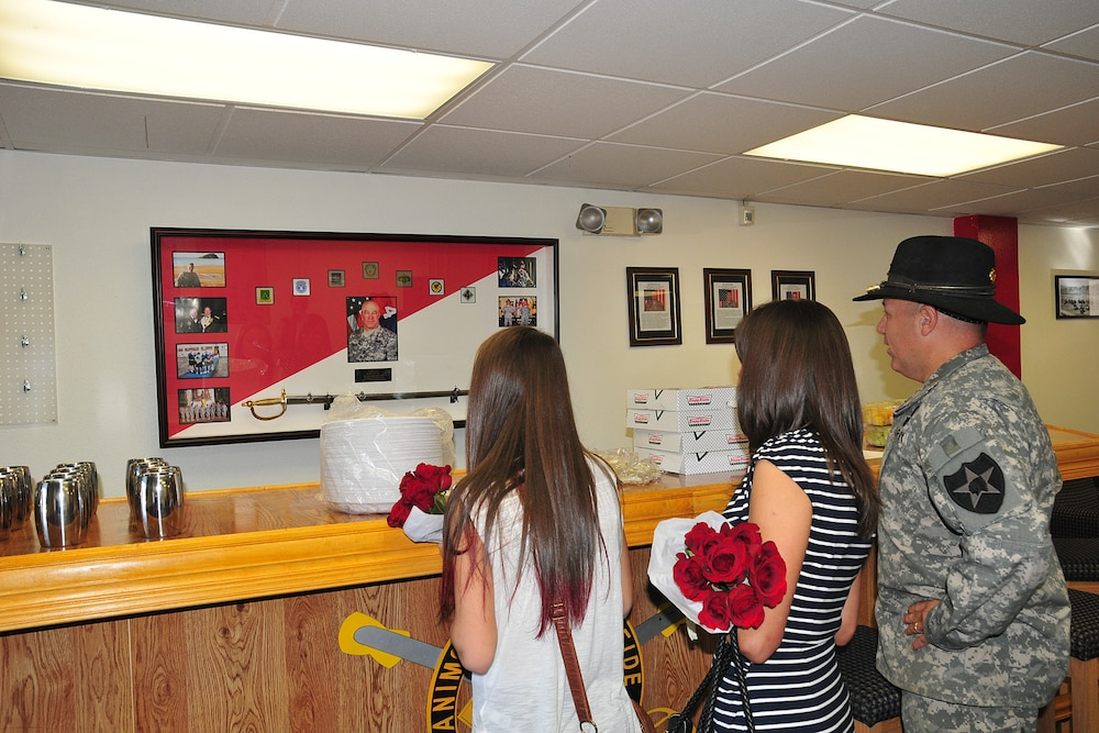 Squadron dedicates room to fallen former CSM