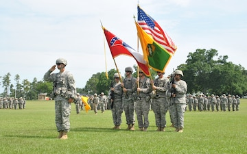 155th Armored Brigade Combat Team change of command